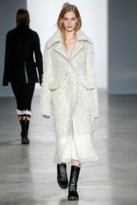 look 4 calvin klein abrigo