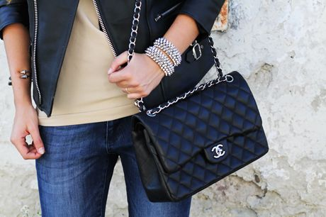 bolso acolchado Chanel