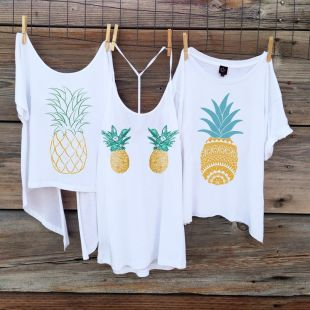 tshirt pineapple
